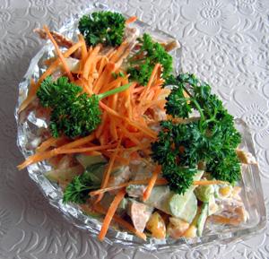 Салат из свиных ушек
