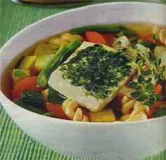 Ароматный суп с макаронами