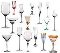 Купить бокалы для вина. Купить декантер и бокалы для шампанского